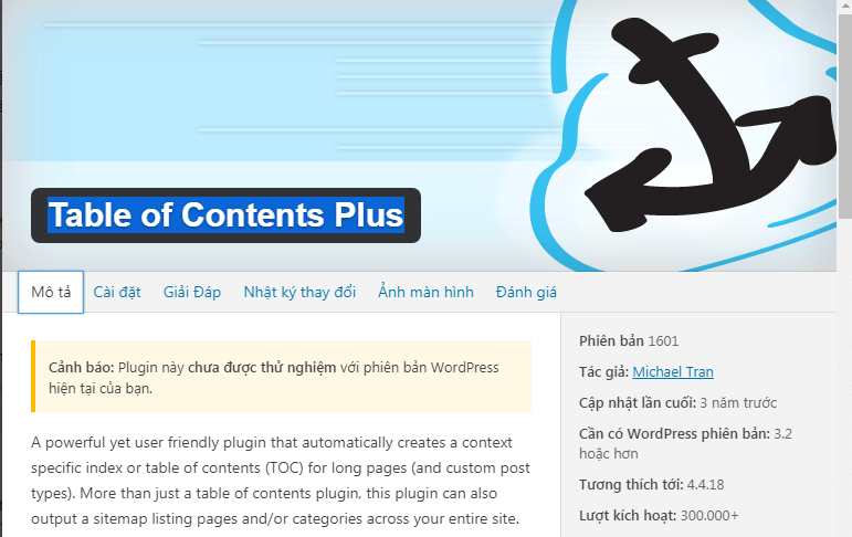 Plugin Table-of-Contents-Plus-2